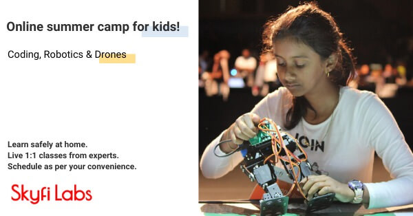 Robotics Online Summer Camp for Kids Cover Image