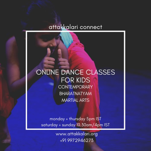 Online Dance Classes for Kids: Attakkalari Connect Cover Image