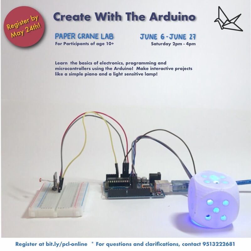 Create with the Arduino Cover Image