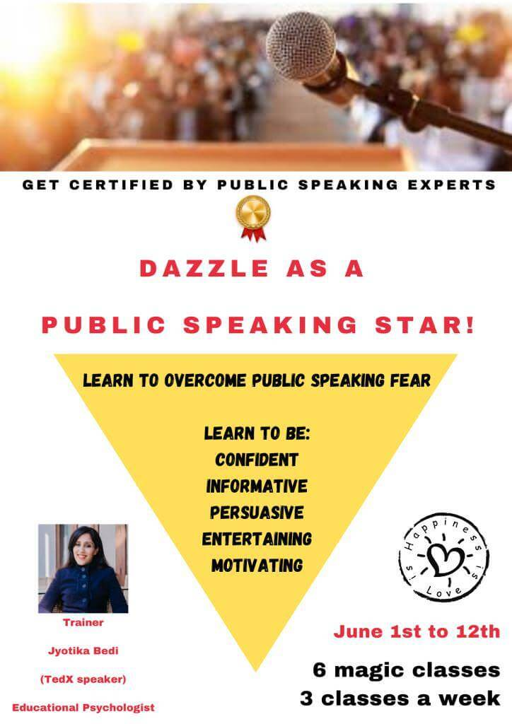 Dazzle As a Public Speaking Star Cover Image