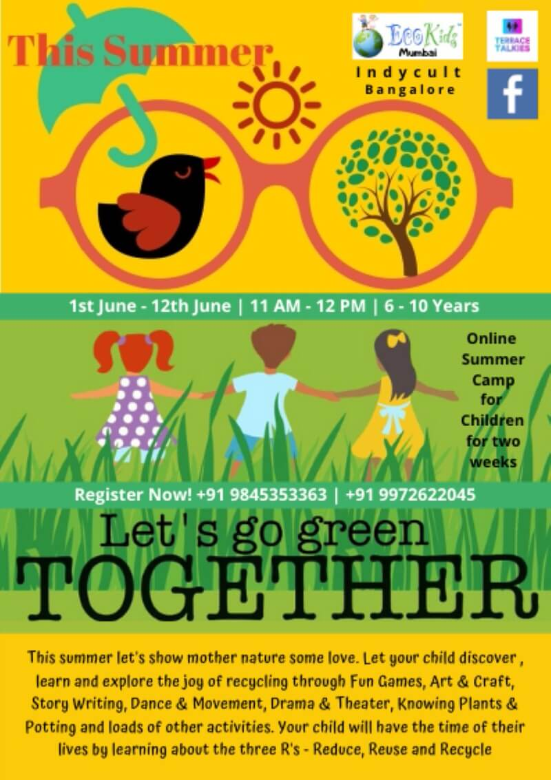 Let's Go Green Together Cover Image