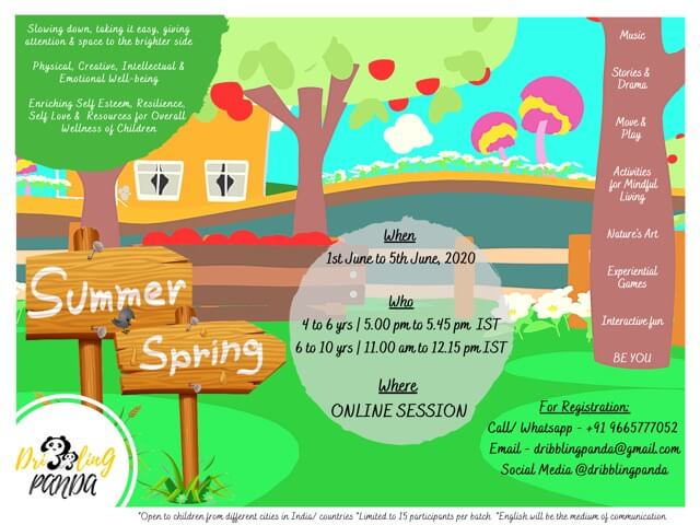 Summer Springs – Online Camp by Dribbling Panda Cover Image