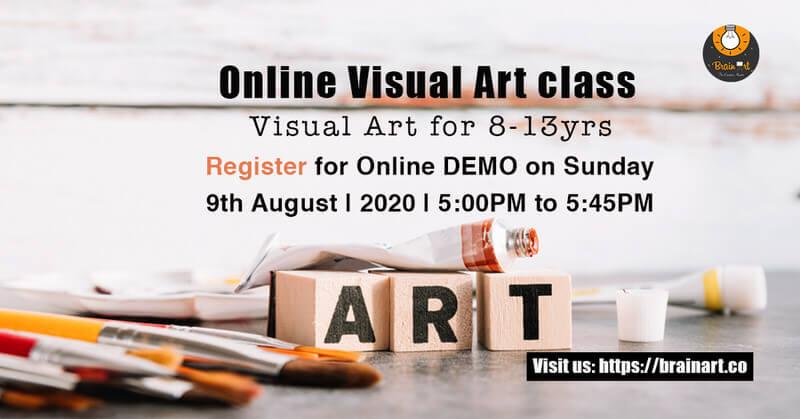 BrainArt Online Visual Art Workshop Cover Image