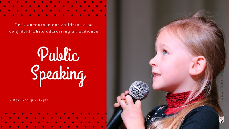 CueKids Public Speaking Online Course Level 1 Cover Image