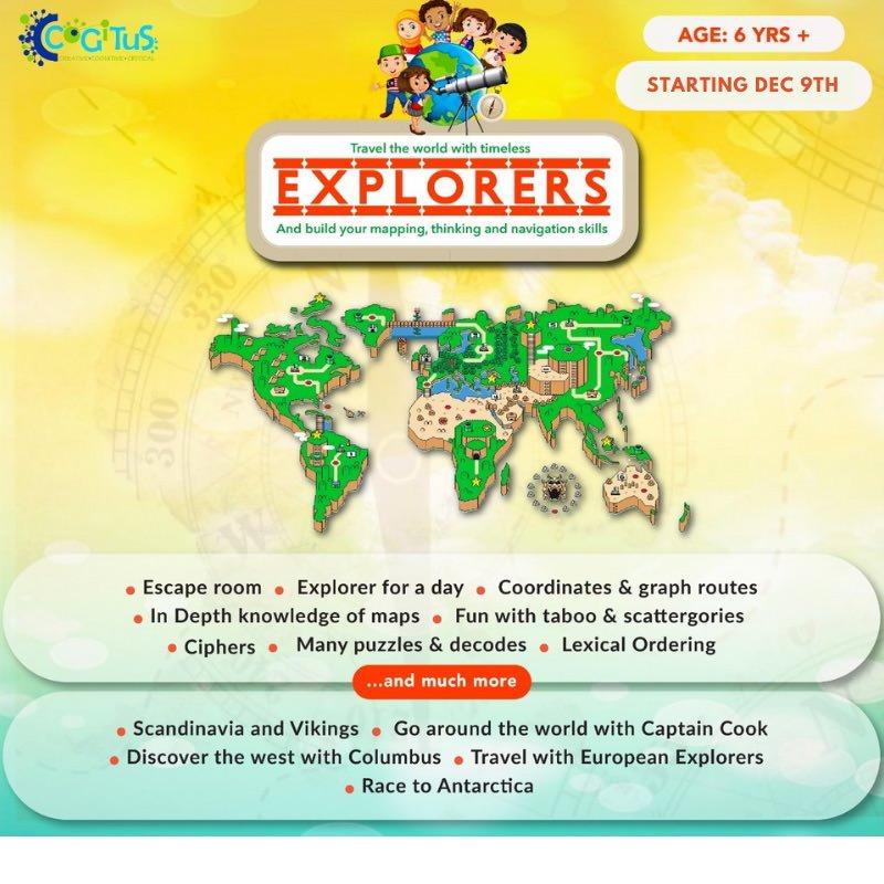 Cogitus Explorers Program Cover Image