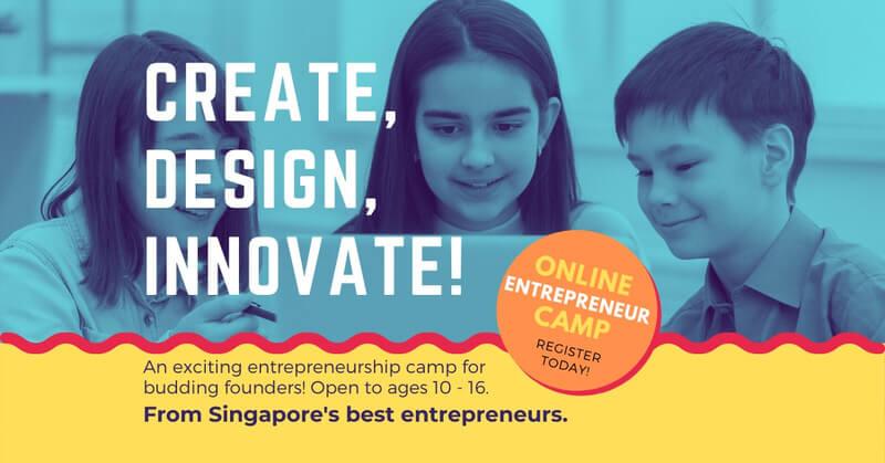 Create, Design, Innovate! Entrepreneurship Camp Cover Image