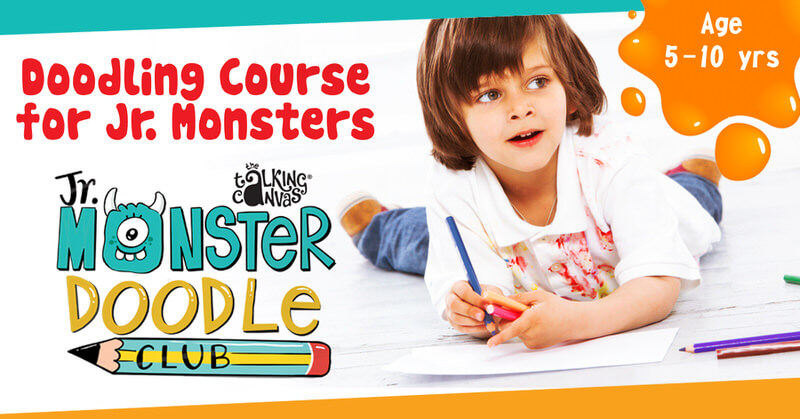 Fun Online Doodling Course for Kids Cover Image