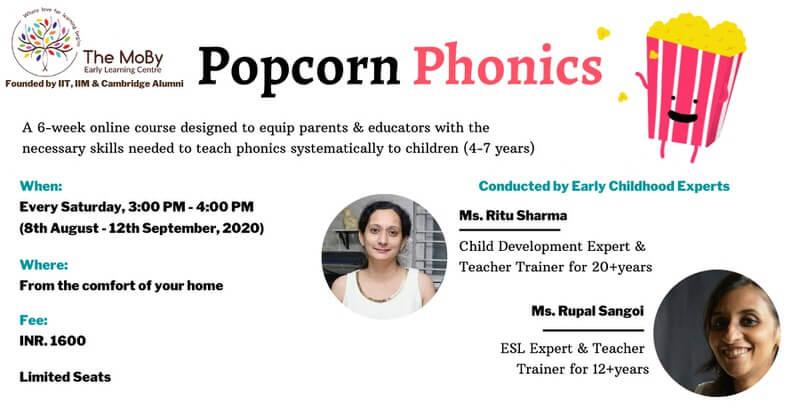Popcorn Phonics Cover Image