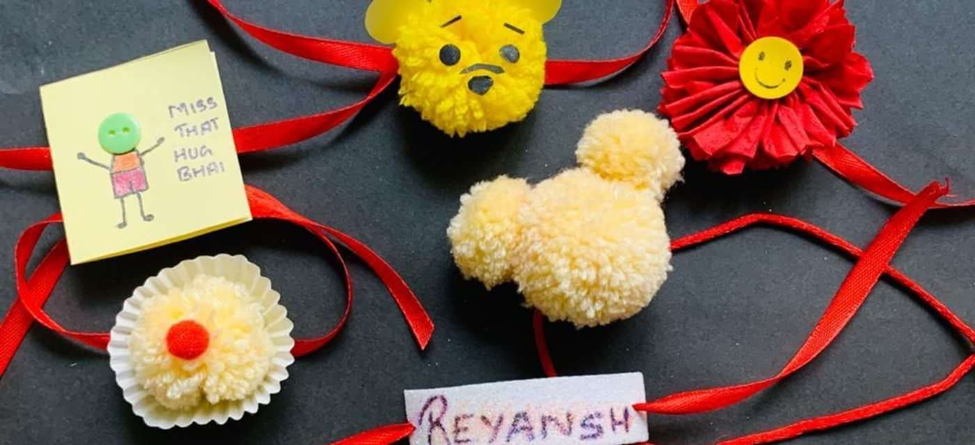 DIY Rakhis to make at home