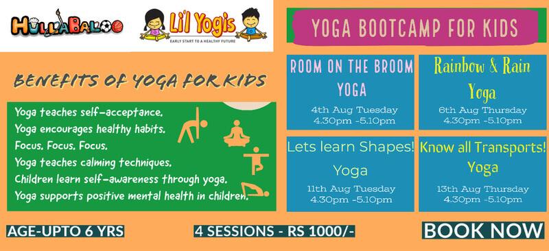 Hullabaloo & Lil Yogis: Yoga Boot Camp for Kids Cover Image