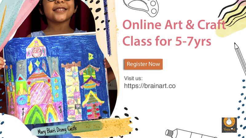 BrainArt Online Art Classes Cover Image