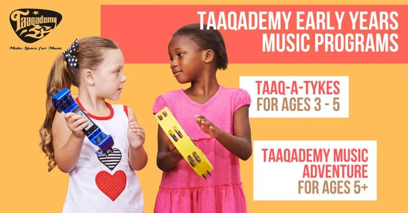 Taaqademy Early Years Online Music Program Cover Image