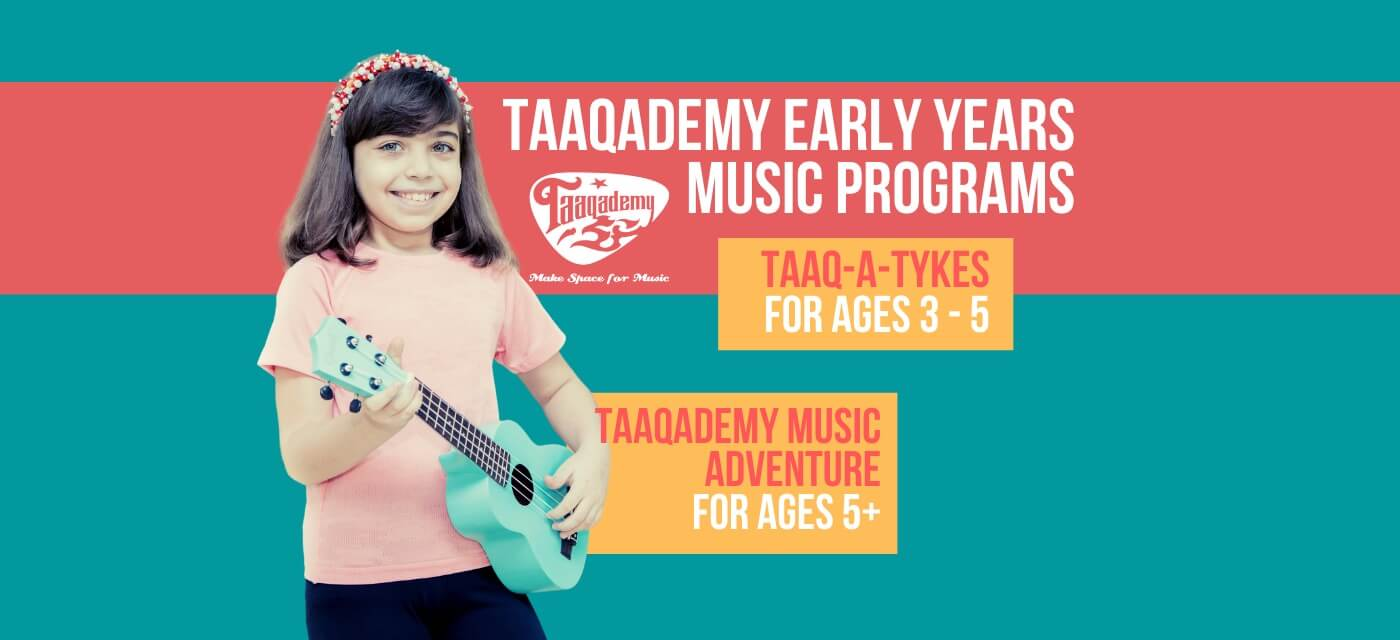 Taaqademy Early Years Online Music Program for Kids 3 to 6 years Cover Image