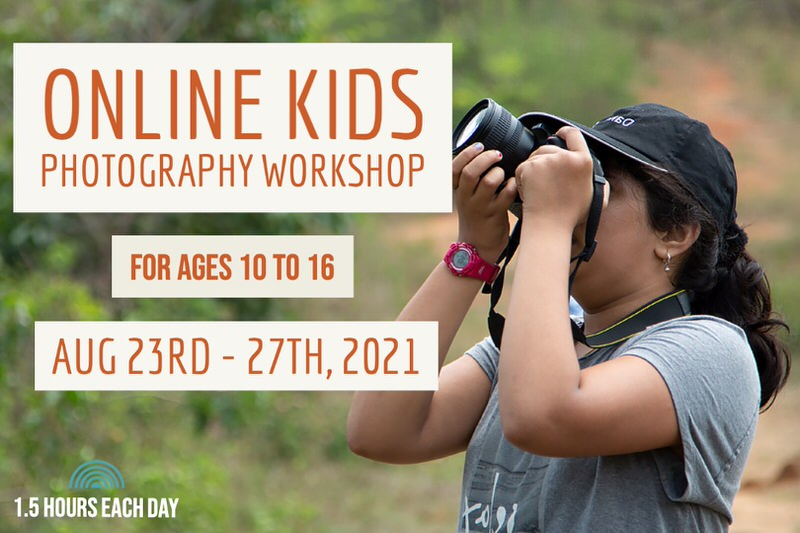 Online Photography Workshop Cover Image