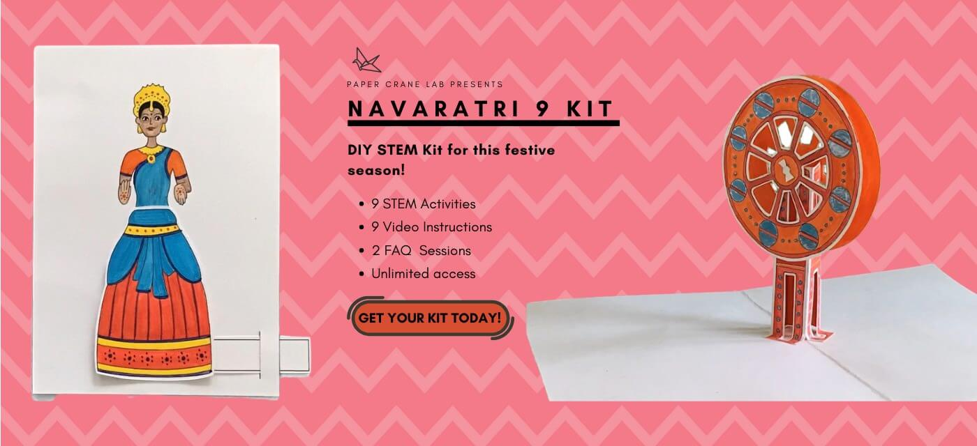 9 Days 9 DIYs: the perfect Navaratri Activity Kit for Kids Cover Image