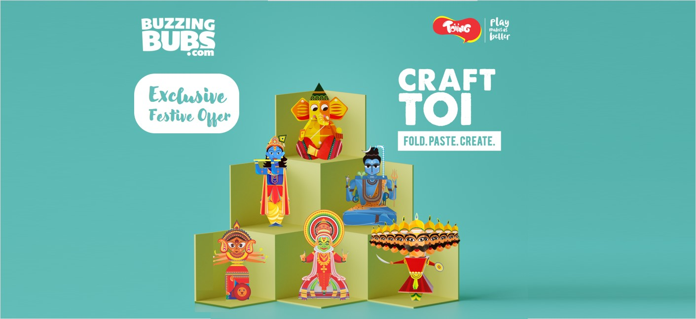 Festive Fun, DIY, Toys & more with CrafTois by Toiing Cover Image