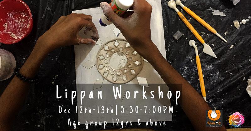 Lippan Relief Mud & Mirror Workshop Cover Image