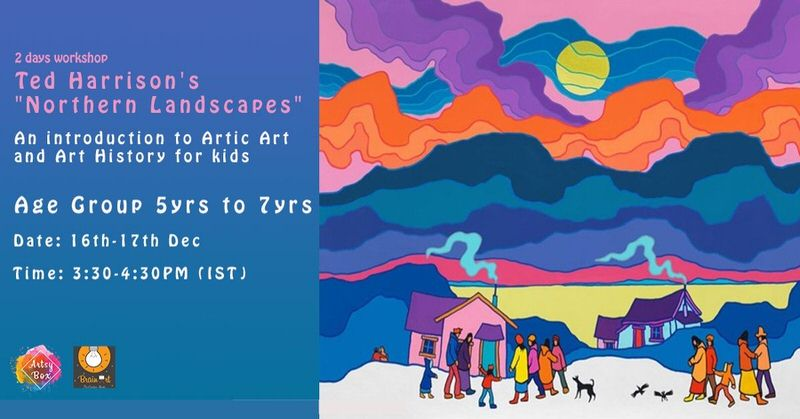 Ted Harrison's Northern Landscapes: Introduction to Artic Art & Art History Cover Image