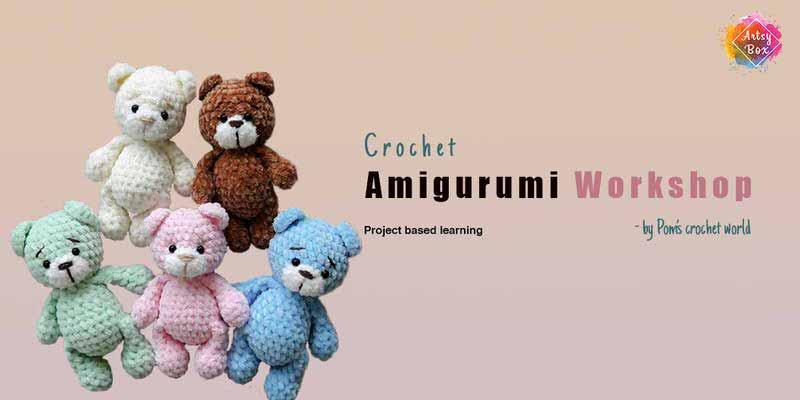 Amigurumi Crochet Workshop Cover Image