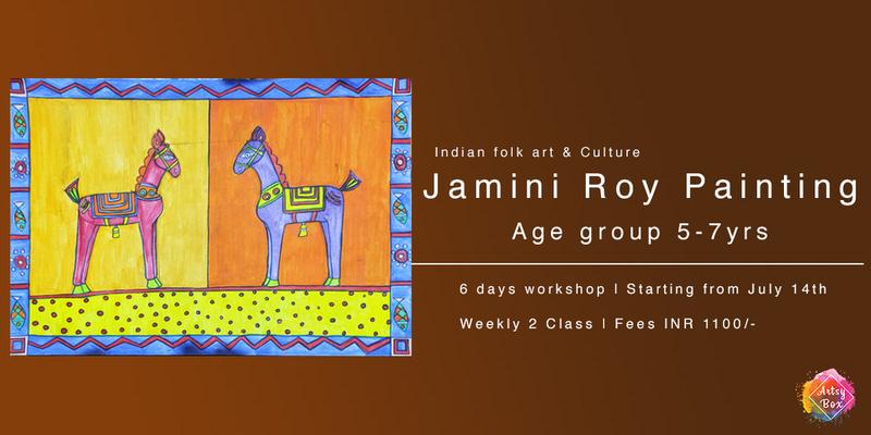 Bengal Folk Art Workshop: Jamini Roy Style Cover Image