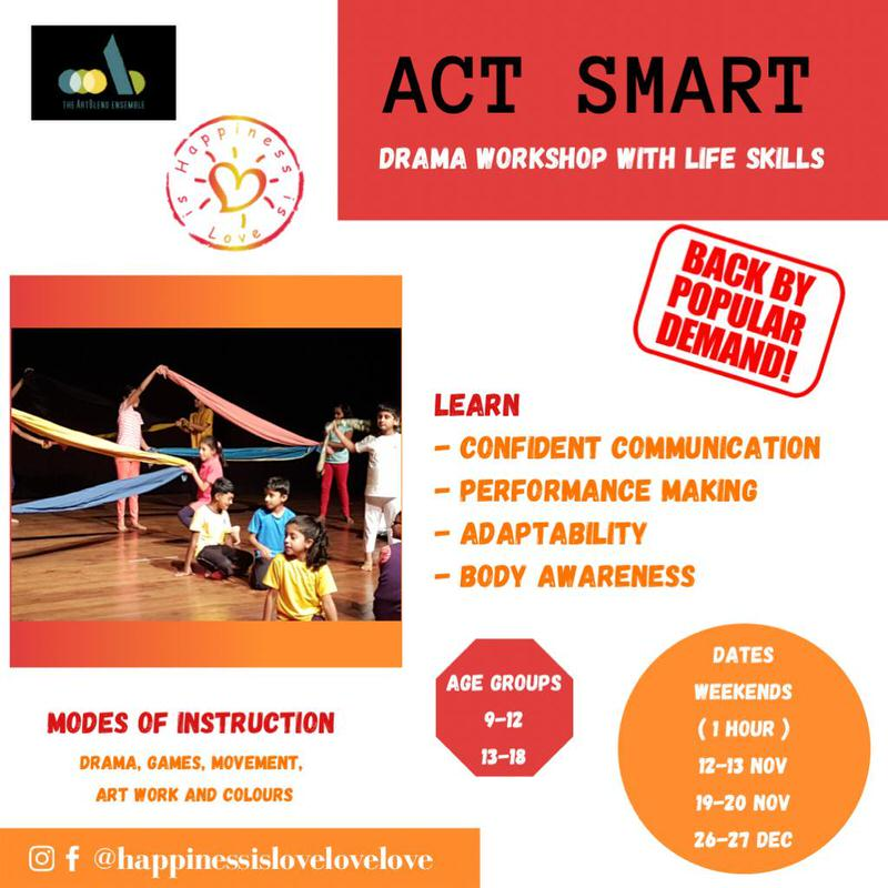 Act Smart: Drama Workshop with Life Skills Cover Image