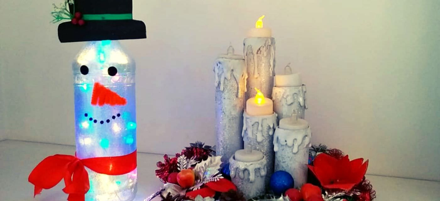 DIY Christmas Special: Adorable Little Snowman! Cover Image