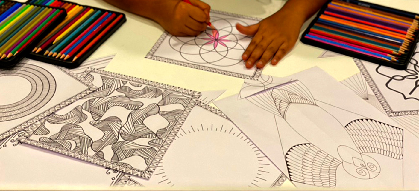 Download FREE kite colouring pages for Makar Sankranti festival Cover Image