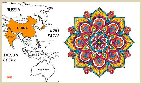 Mandala Flower design