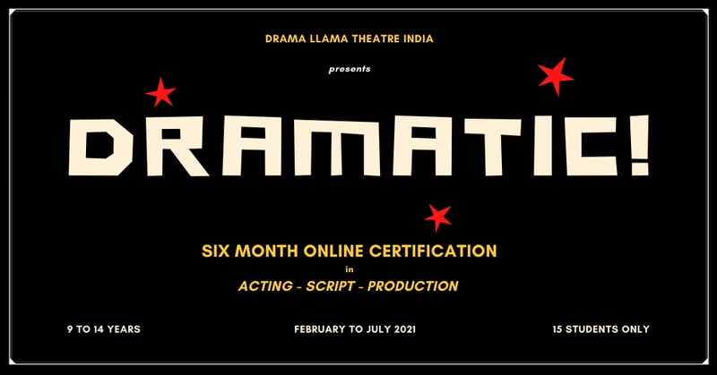 DRAMATIC – Interactive Online Drama Workshop Cover Image