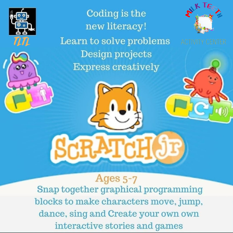 Coding with Scratch Jr by The Little Thinkers Lab Cover Image