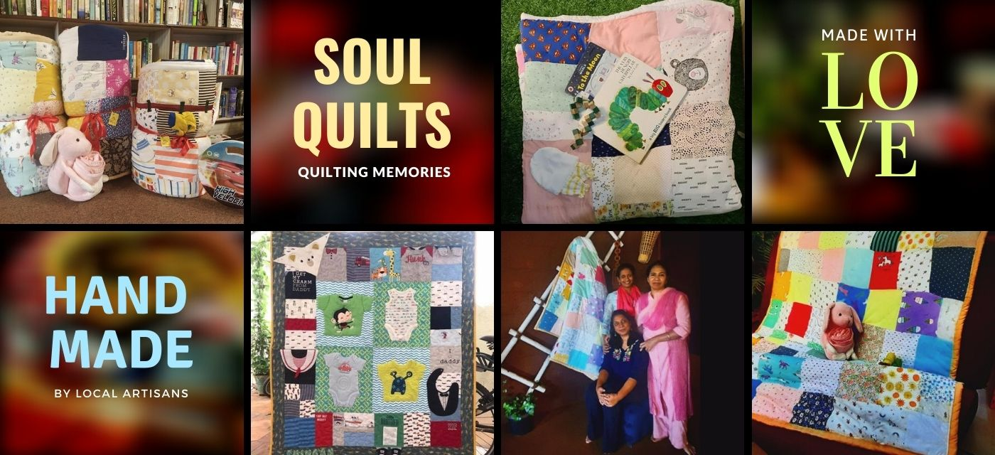 Inspiring story behind the memory quilt makers, Soul Quilts Cover Image