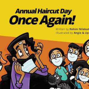 Annual haircut Day by Pratham Books