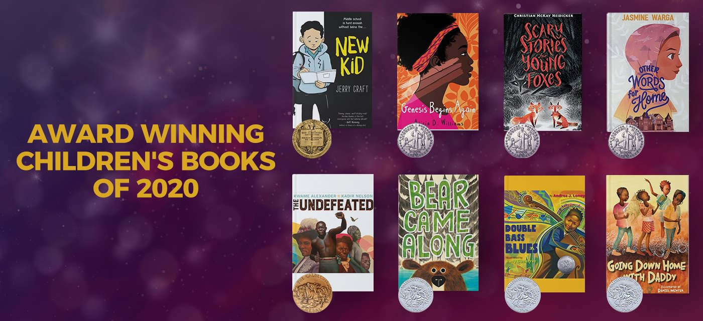 11 Award-Winning Children's Books of 2020 to Look Out For! Cover Image
