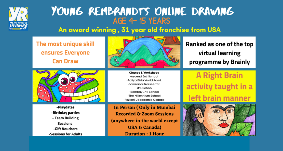 Young Rembrandts Online Drawing Classes for Kids Cover Image