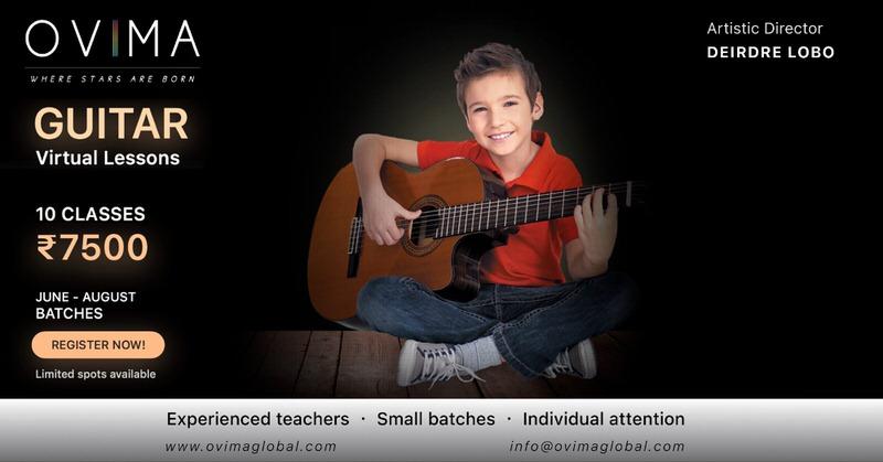 OVIMA Guitar Virtual Lessons for Kids Cover Image