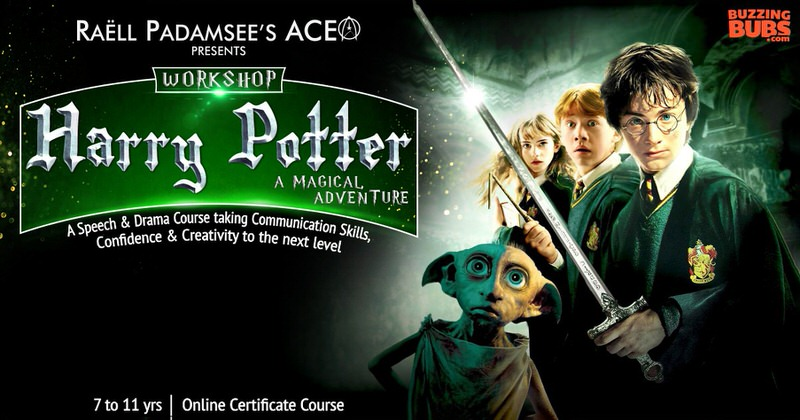 Harry Potter Themed Speech and Drama Program Cover Image