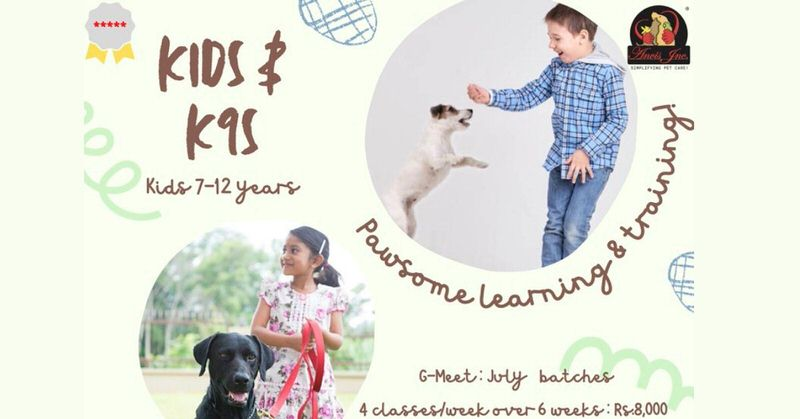 Kids & K9s: Pawsome Learning & Training Cover Image