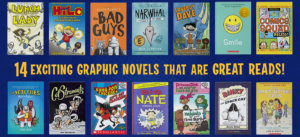 Graphic novels collage