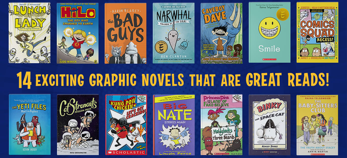 14 Exciting Graphic Novels That Make for Quality Reading! Cover Image