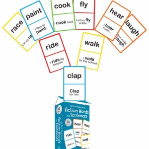 Action Words Playing cards