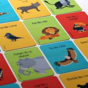 Wild Safari Card Game