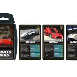 Trump cards - Sports cars