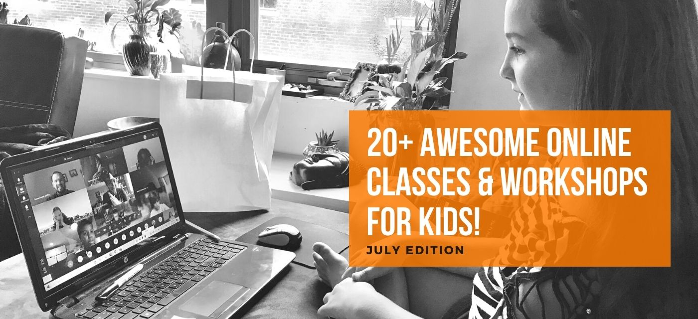 Keep the fun alive with Online Classes & Workshops for Kids! Cover Image