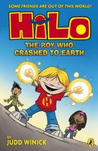 Graphic novel - Hilo The Boy who Crashed to Earth