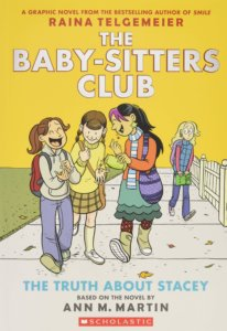 Graphic novel - The Baby-sitters Club