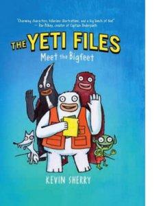 Graphic novel - The Yeti Files