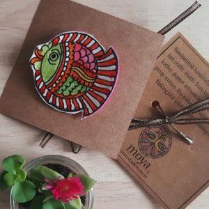 Amara' Madhubani Paint Unique Rakhi's