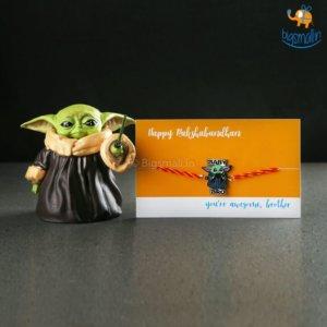 Yoda Rakhi Gift Set