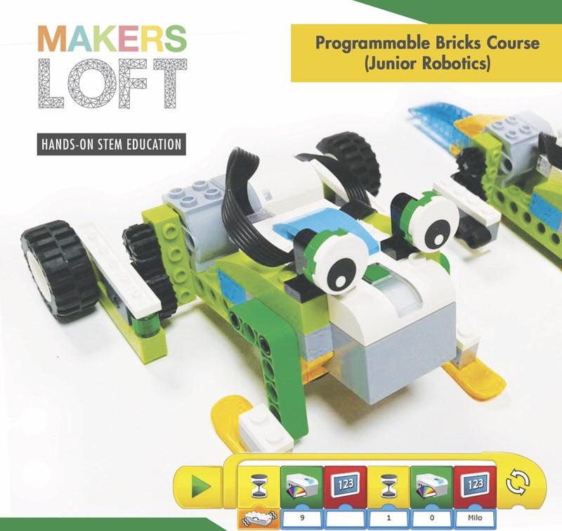 Programmable Bricks Course: Junior Robotics Cover Image