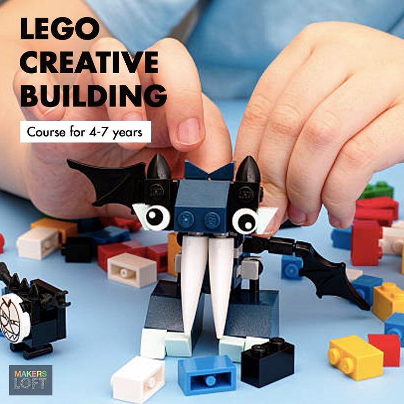MakerLoft Lego Creative Building Course Cover Image